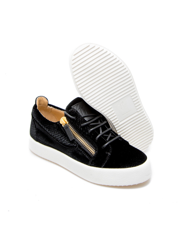 outlet on sale delicate colors Giuseppe Zanotti sneakers zenobia blackrw90013001