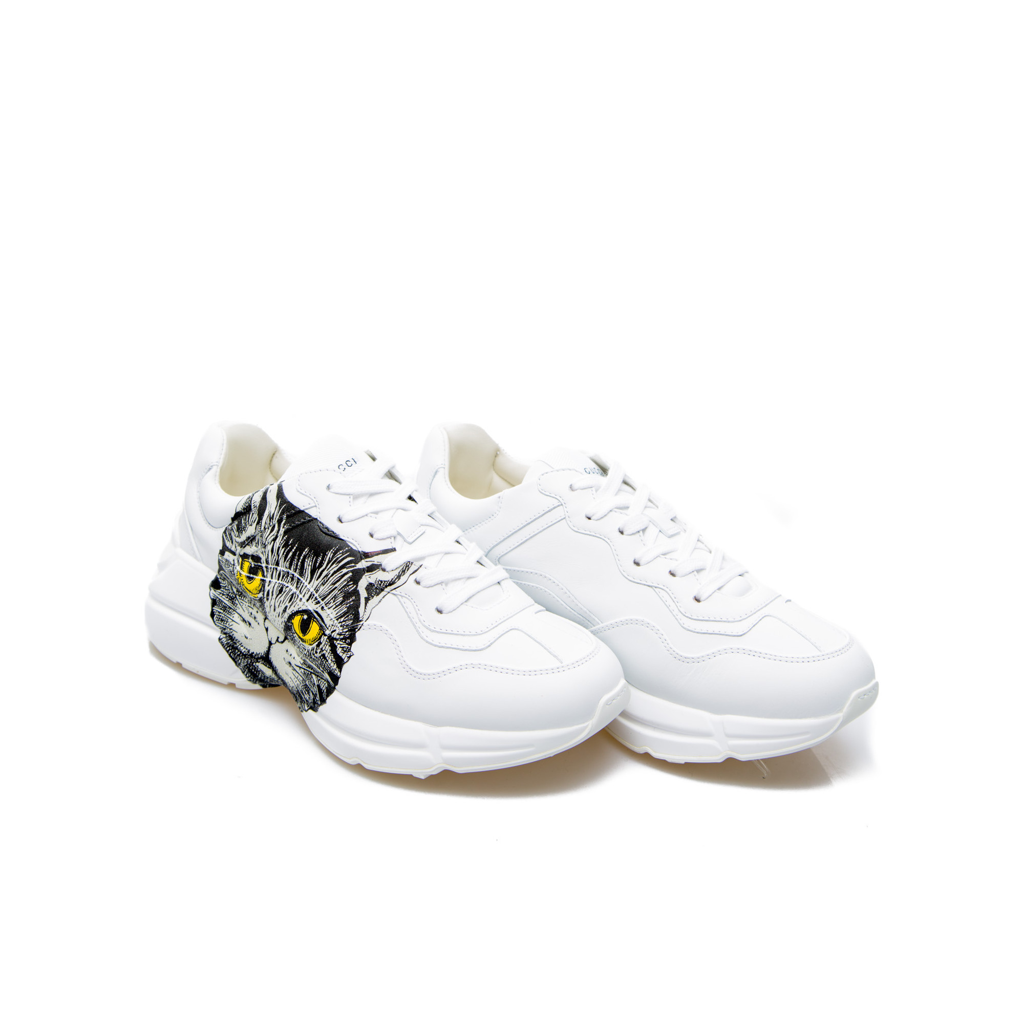 e63d56d793 Gucci Rhyton Sneaker White | Derodeloper.com