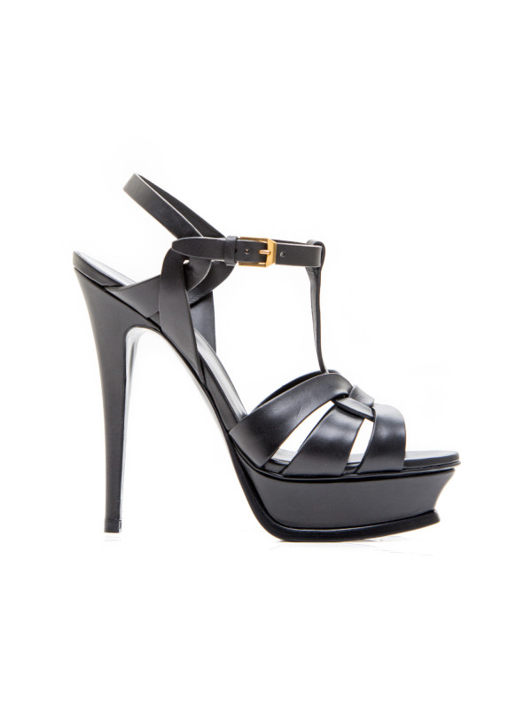 Saint Laurent sandals high heel zwart