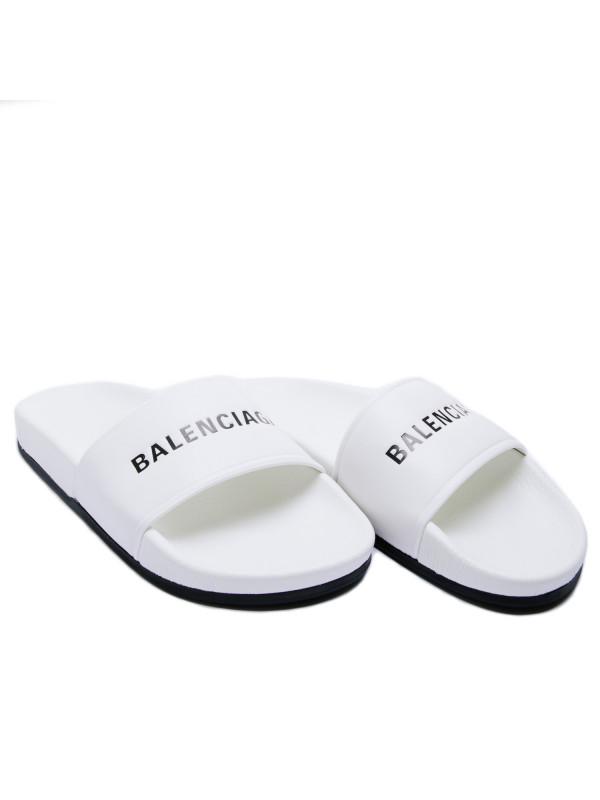 Balenciaga sandals wit