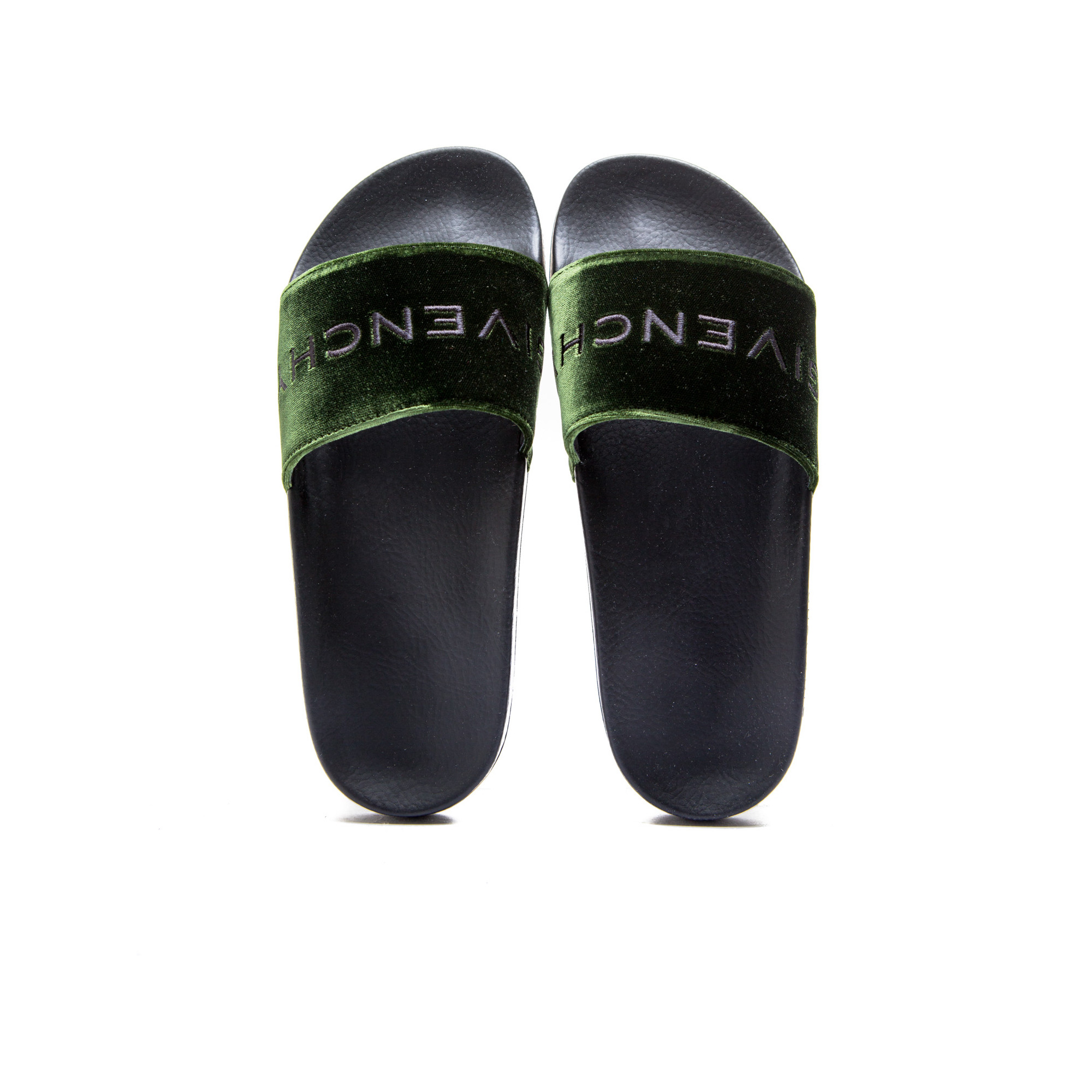 df442cea775f Givenchy slide flat sandal greenbe e jpg 2000x2000 Givenchy slide sandals