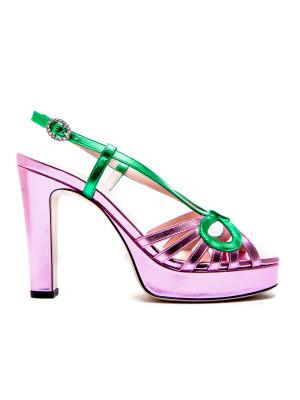 Gucci Gucci sandals nappa silk
