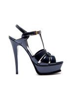 Saint Laurent tribute 105 sandal blauw