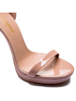 Saint Laurent sandals hall 105 strap sa nude