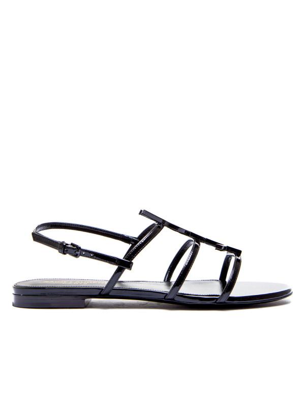 Saint Laurent sandals cassandra 05 ysl zwart