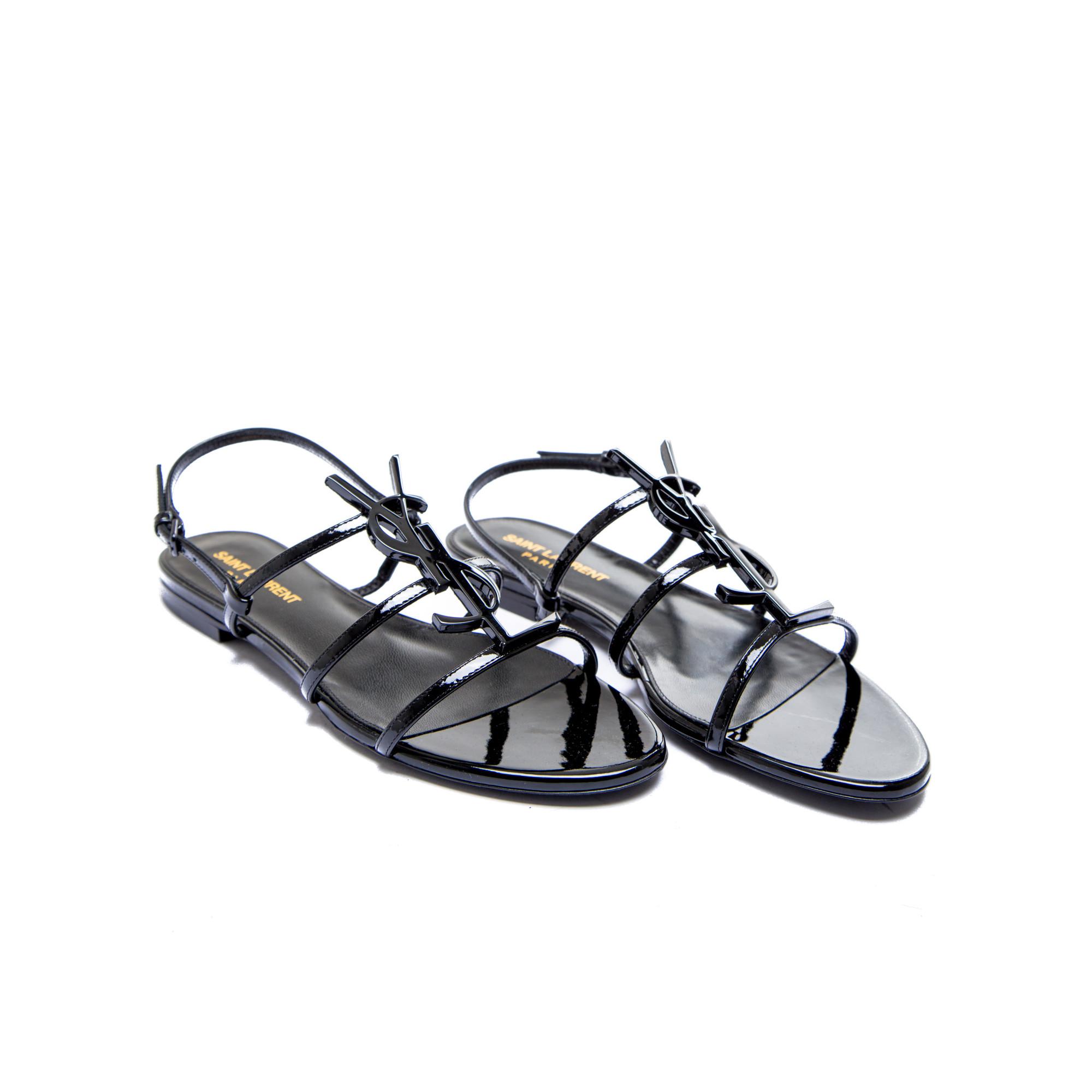 60170f582f65 ... Saint Laurent sandals cassandra 05 ysl black Saint Laurent sandals  cassandra 05 ysl black - www ...