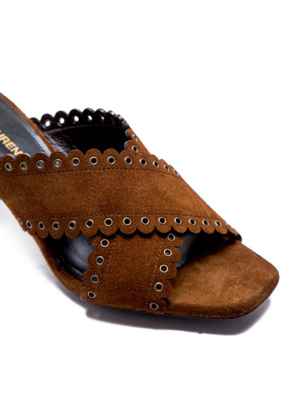 Saint Laurent sandals loulou 70 eyel mu beige