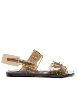 Off White Off White ziptie jelly sandal