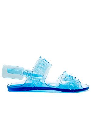 Off White Off White ziptie jelly sandal