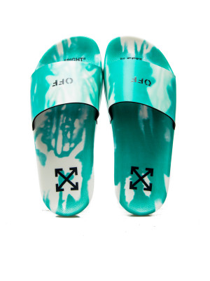 Off White Off White tie dye pool slider