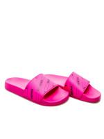 Balenciaga rubber sandal zwart
