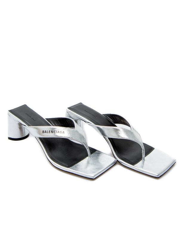 Balenciaga sandal zilver