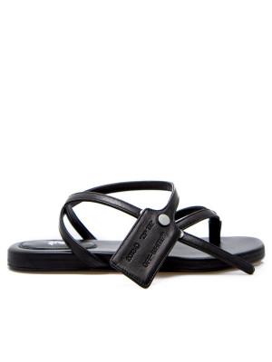 Off White Off White ziptie flat sandal