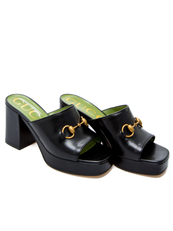 Gucci  sandals granada kid zwart