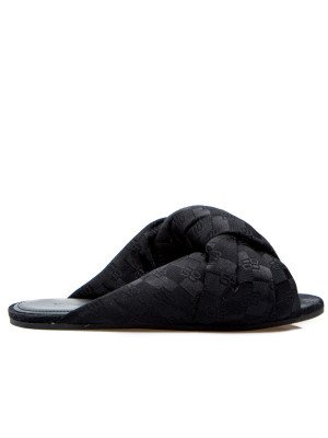Balenciaga Balenciaga drapy sandal f005 black