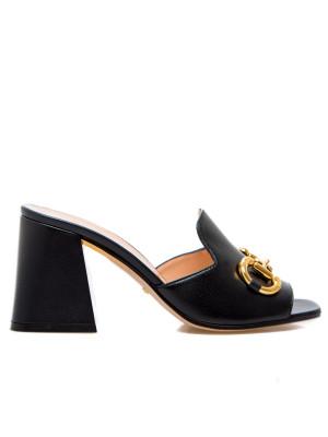 Gucci Gucci mid heel slide sandal