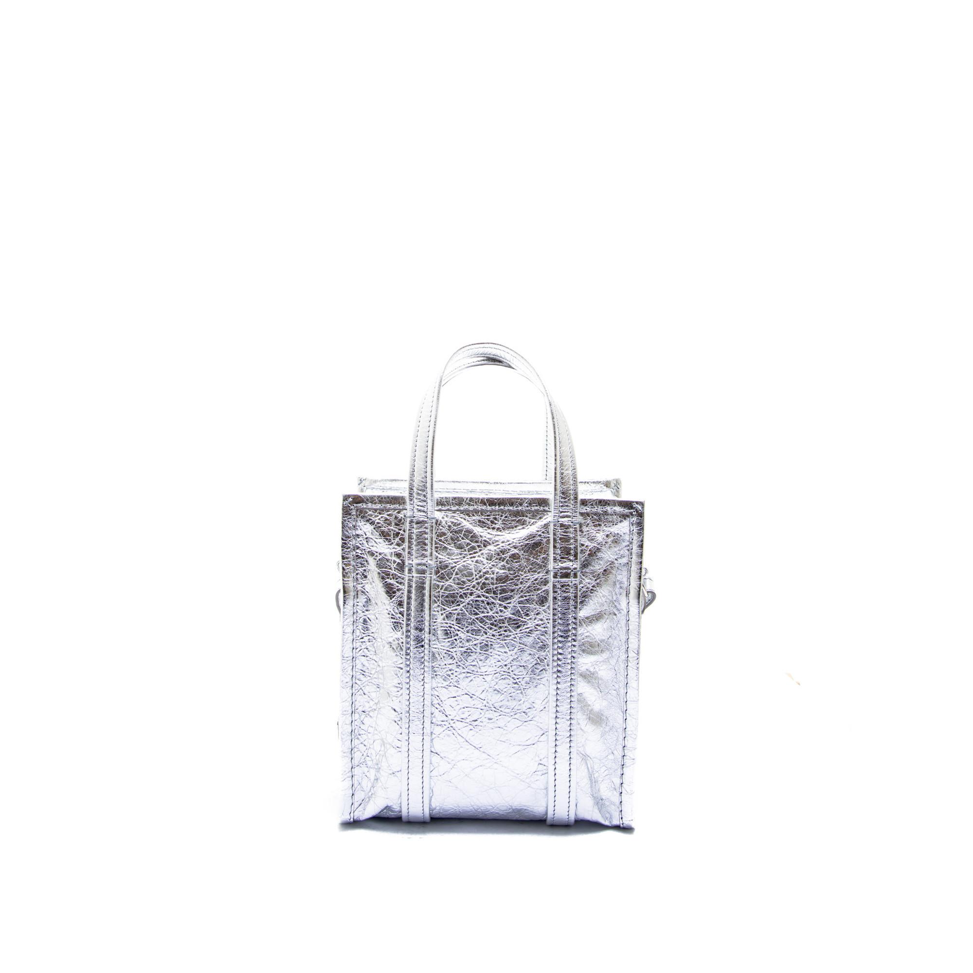 balenciaga tote bag silver