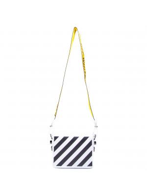 Off White Off White diag flap bag