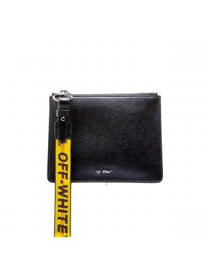Off White Off White diag double pouch