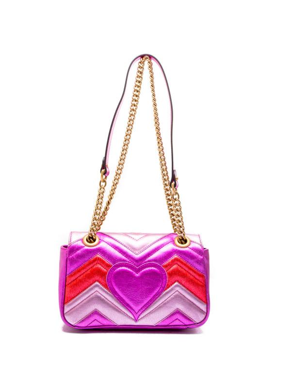 Gucci handbag gg marmont roze