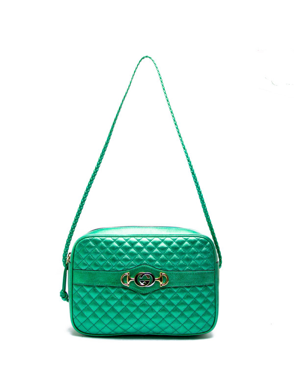 Gucci handbag trapuntata groen