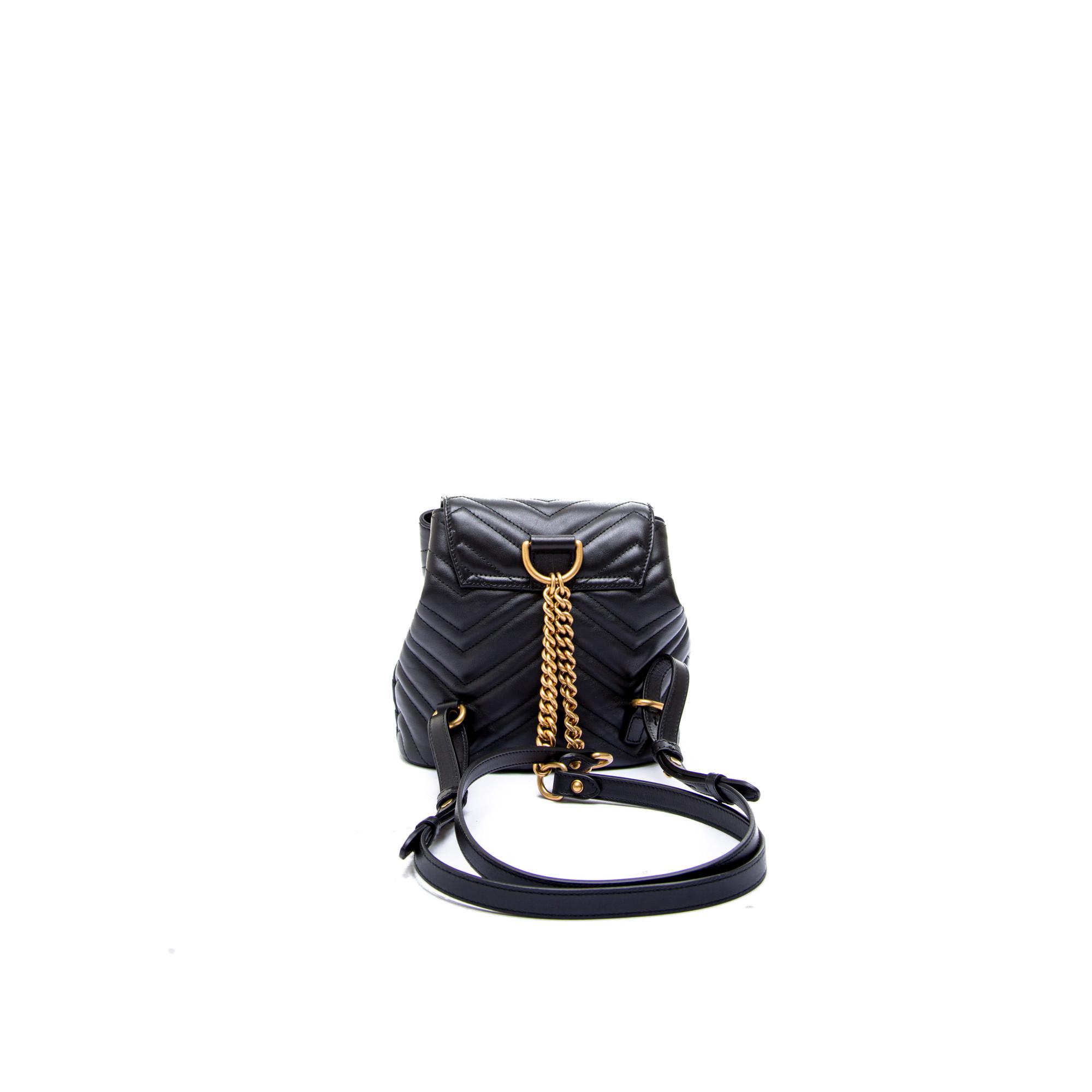 e2d517485c4 ... Gucci backpack gg marmont black Gucci backpack gg marmont black -  www.derodeloper.com ...