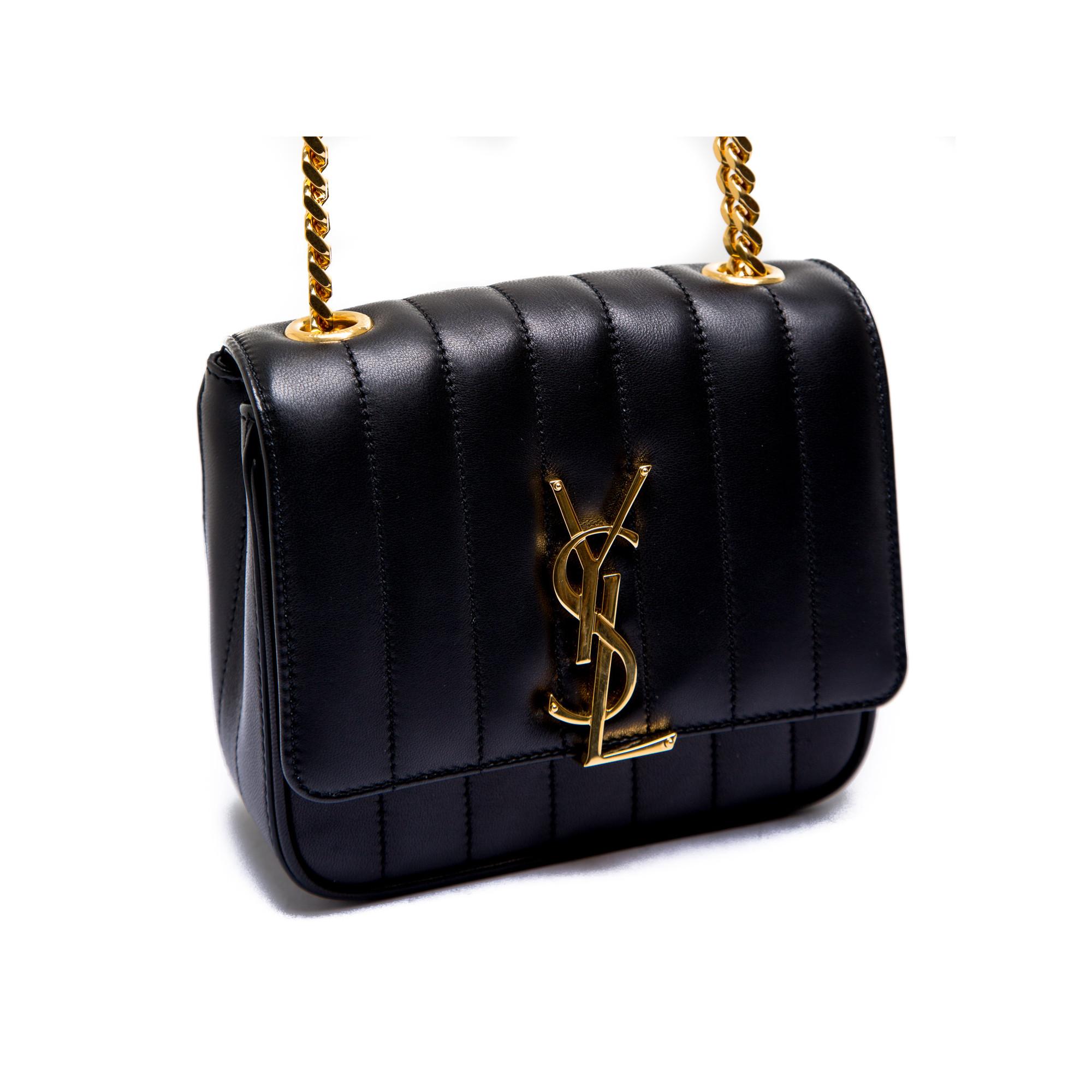 597cb02aa7 ... Saint Laurent ysl bag mng vicky s black Saint Laurent ysl bag mng vicky  s black