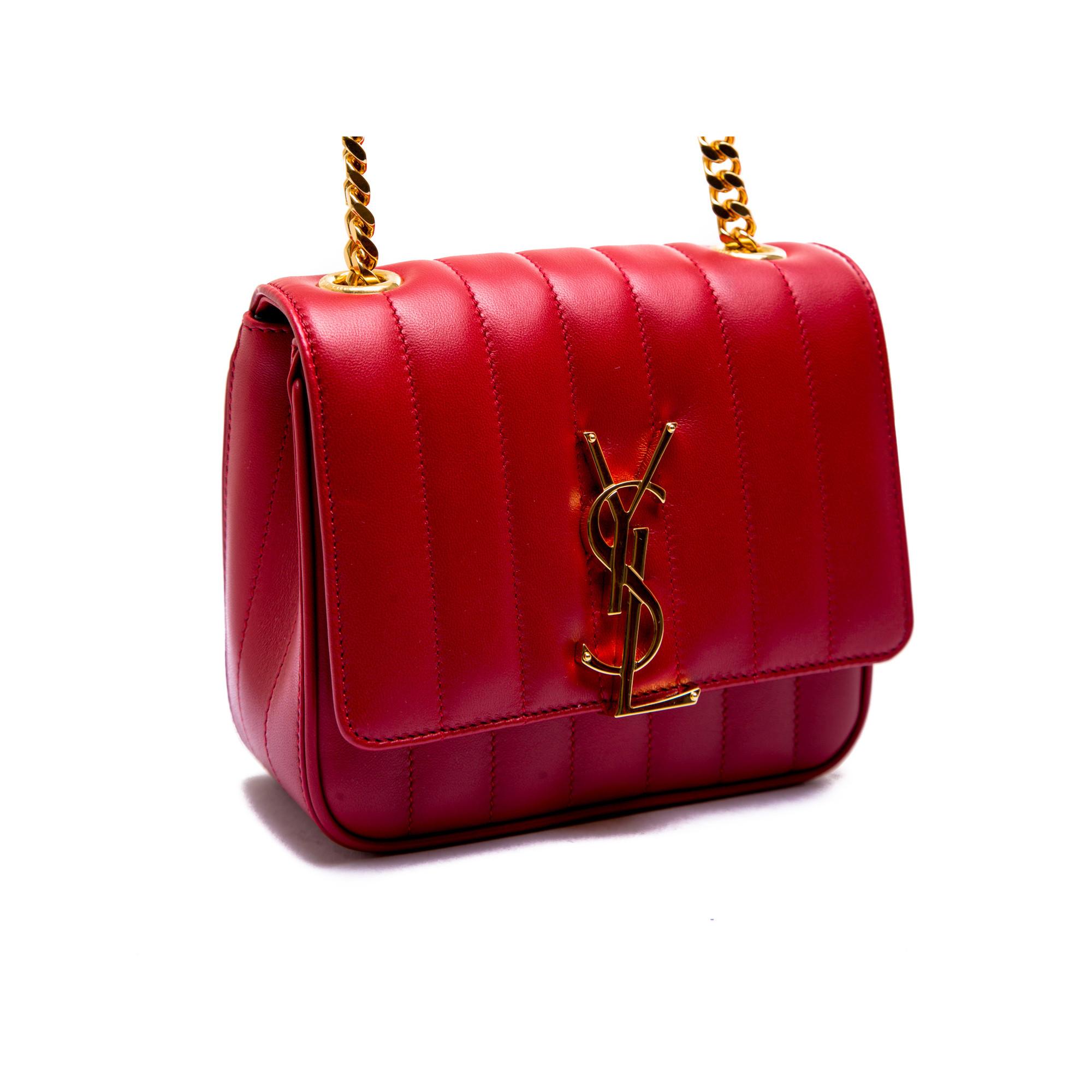 ... Saint Laurent ysl bag mng vicky s red Saint Laurent ysl bag mng vicky s  red b4bc8bd265ada
