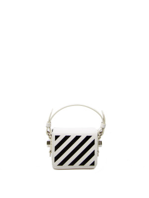 Off White diag baby flap bag