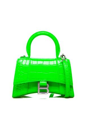 Balenciaga Balenciaga hour top handle green