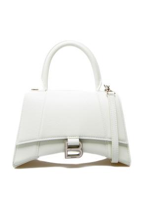 Balenciaga Balenciaga hourglass top handl white
