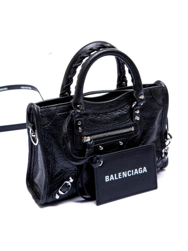 Balenciaga classic nano city zwart