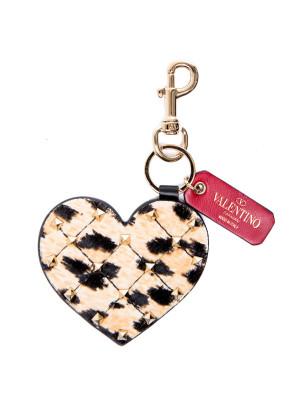 Valentino Valentino heart bag charm key