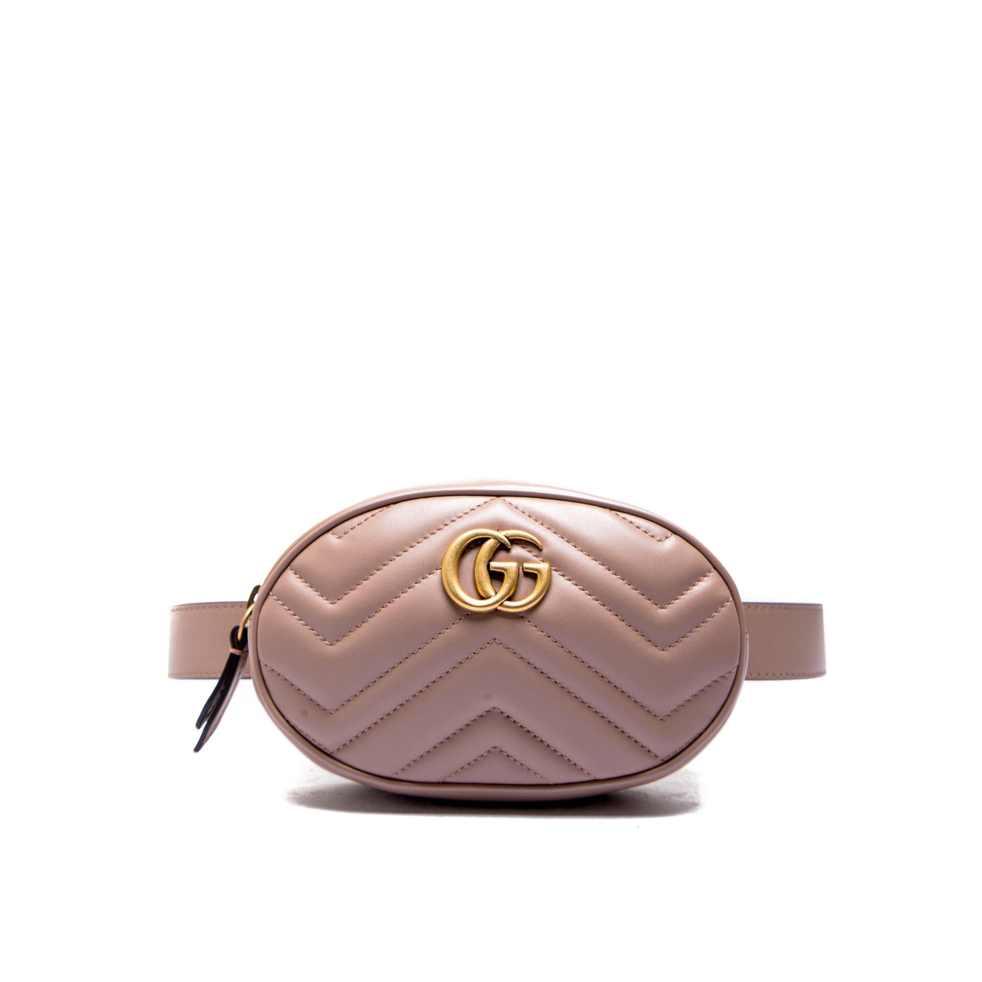 012caa58f4be83 Gucci belt bag with remov belt pink476434 / dsvrt / 5729 ss19