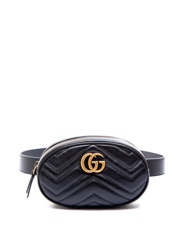 Gucci belt bag with remov belt black476434 / dsvrt / 1000 fw19