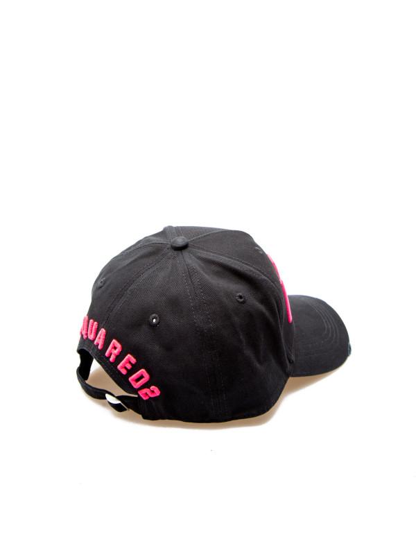 c7522bf21 Dsquared2 baseball cap woman blackbcw4001 / 05c00001 m806