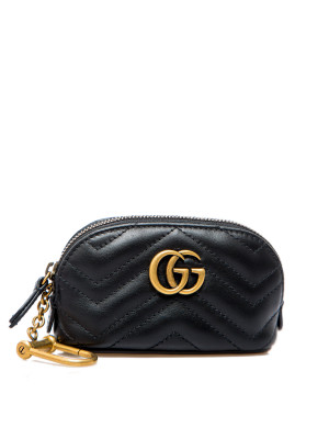 Gucci Gucci key case with zip gg mar