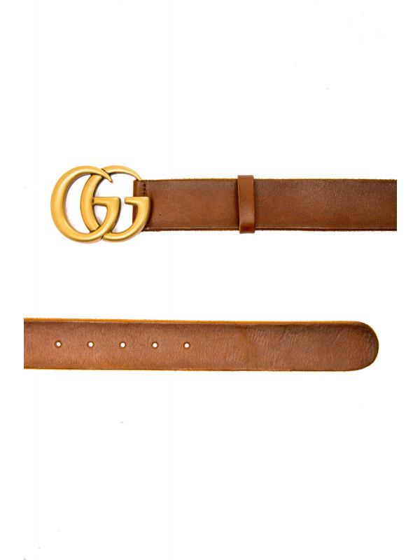 Gucci w belt w.40 gg marmont bruin