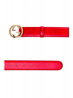 Gucci woman belt w.37 rood