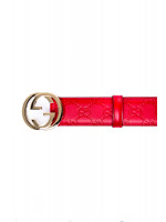 Gucci woman belt w.37 rood