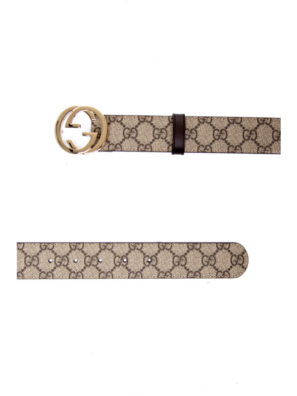 Gucci woman belt w.37 beige