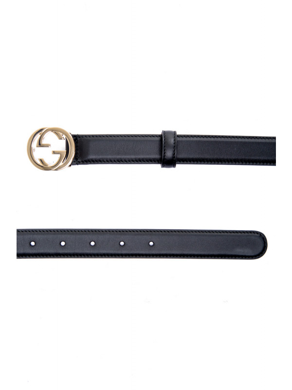Gucci woman belt w.25 zwart