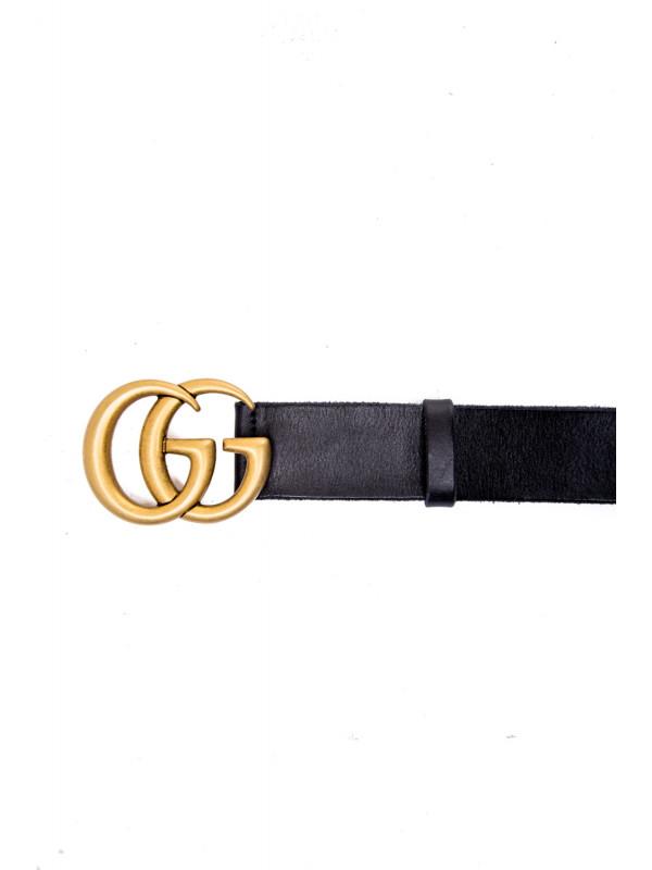 Gucci w belt w.40 gg marmont zwart