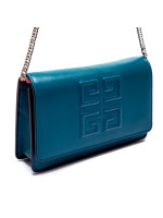 Givenchy emblem chn wallet blauw