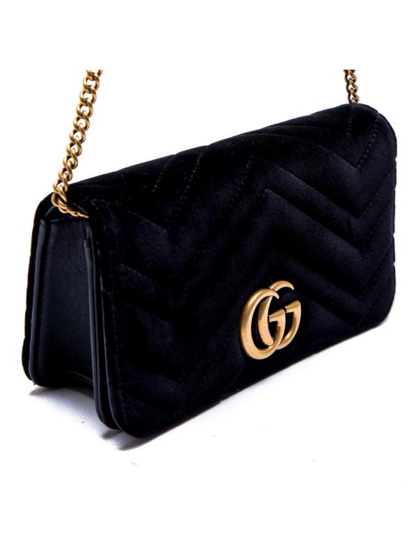 Gucci wallet gg marmont zwart
