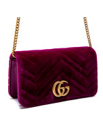 Gucci wallet gg marmont roze