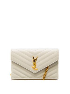 Saint Laurent Saint Laurent wallet with removable tass