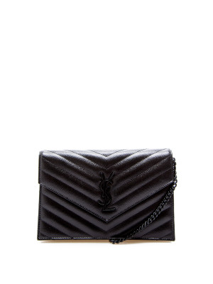 Saint Laurent Saint Laurent wallet with removable tass