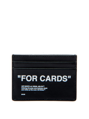 Off White Off White quote cardholder
