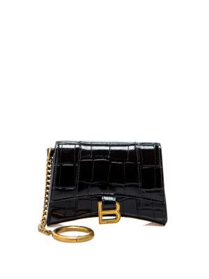 Balenciaga Balenciaga cc holder+ chain black